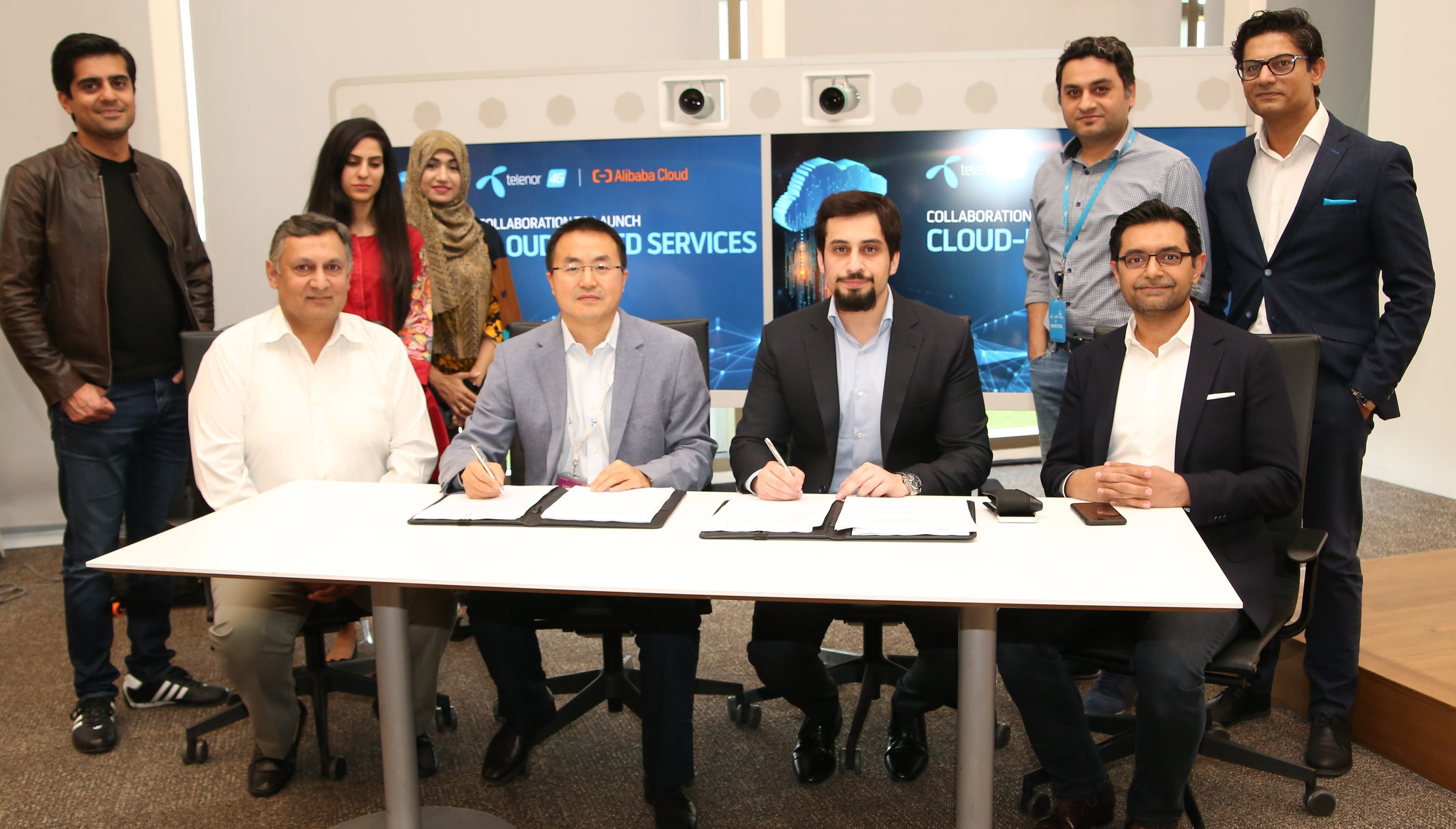 Telenor Pakistan and Alibaba Cloud come together to provide cloud-based services and fasten digital transformation