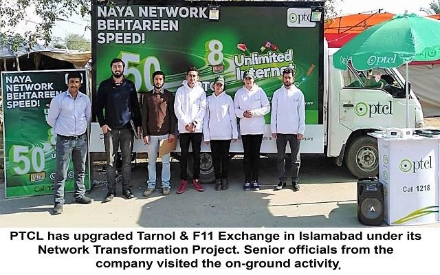 PTCL Upgrades Nine Exchanges in Seven Cities
