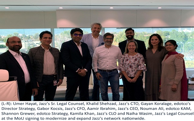 edotco & Jazz Partner to Drive Digital Transformation in Pakistan