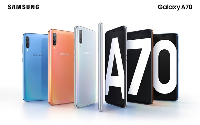 Samsung's Galaxy A70 has a huge display and 32-megapixel selfie camera