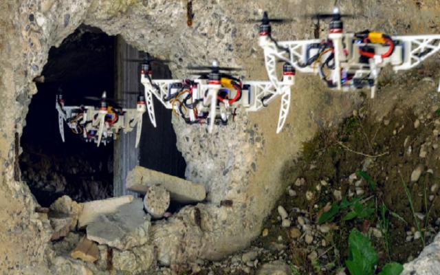 Shape Shifting Drone will Revolutionize the Rescue Mission