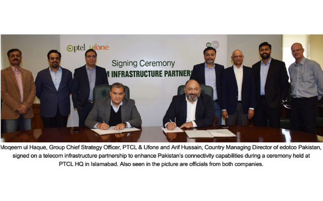 PTCL & Ufone, Edotco Collaborate to Enhance Pakistan's Connectivity Capabilities