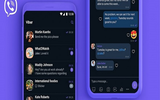 Viber Brings Dark Mode on Android