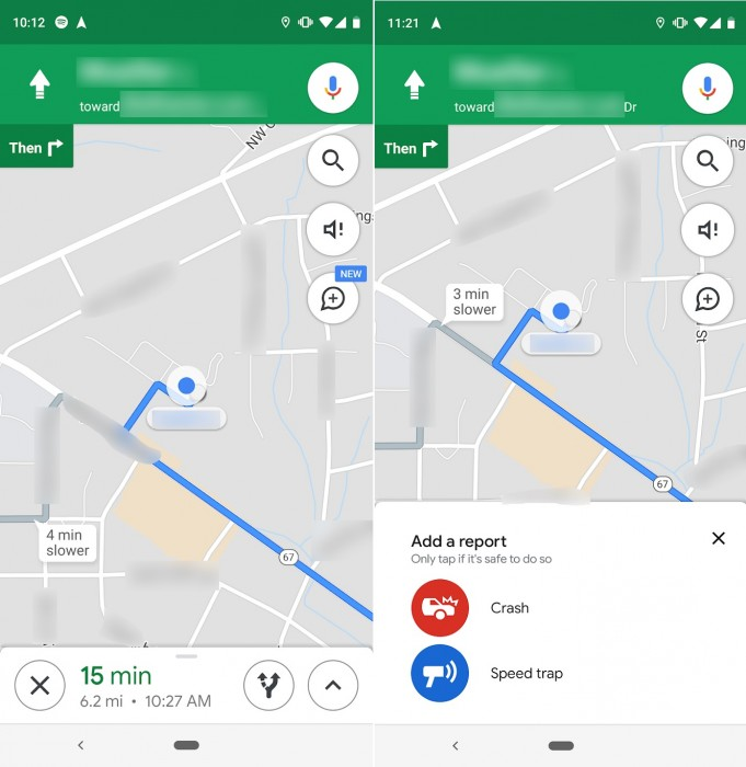 Google Map Speed Trap and Accident Feature Launches for Everyone
