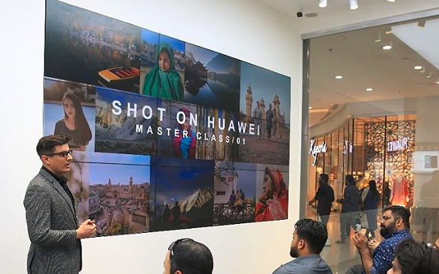 Huawei Trains the Next Generation of Photographers at #ShotonHuawei Master Class