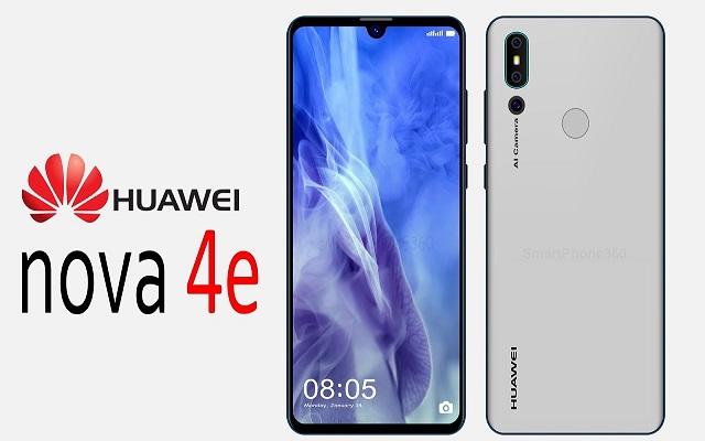 Huawei Nova 4e Specs Got Leaked Ahead Of Announcement
