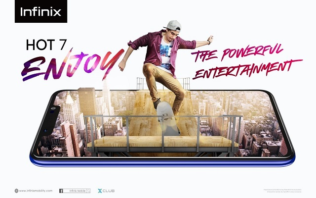 Infinix HOT 7; The Emblem of Success for HOT Series launched Offline After Much Anticipation
