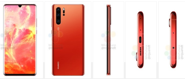 Sunrise Red Huawei P30 Pro Surfaced On The Web