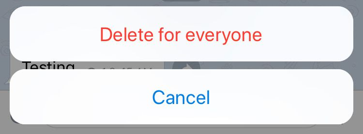 Telegram adds the option to delete chats on other people's devices