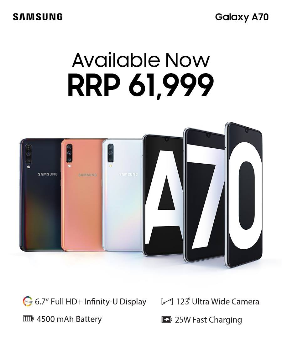 galaxy a70 price in pakistan