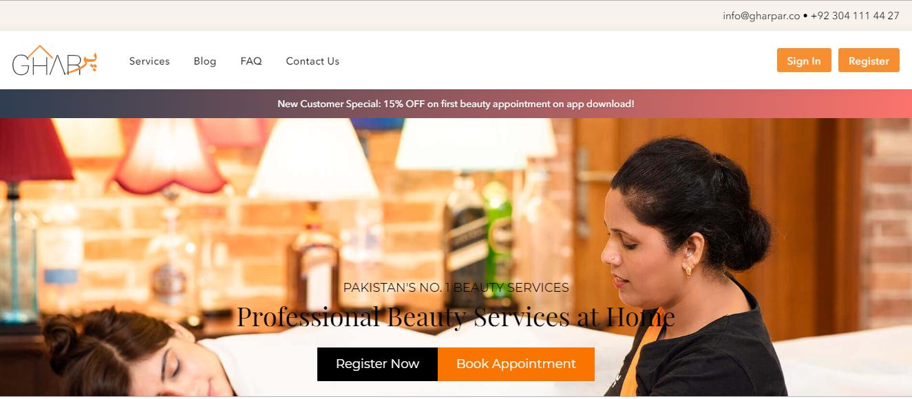 GharPar website
