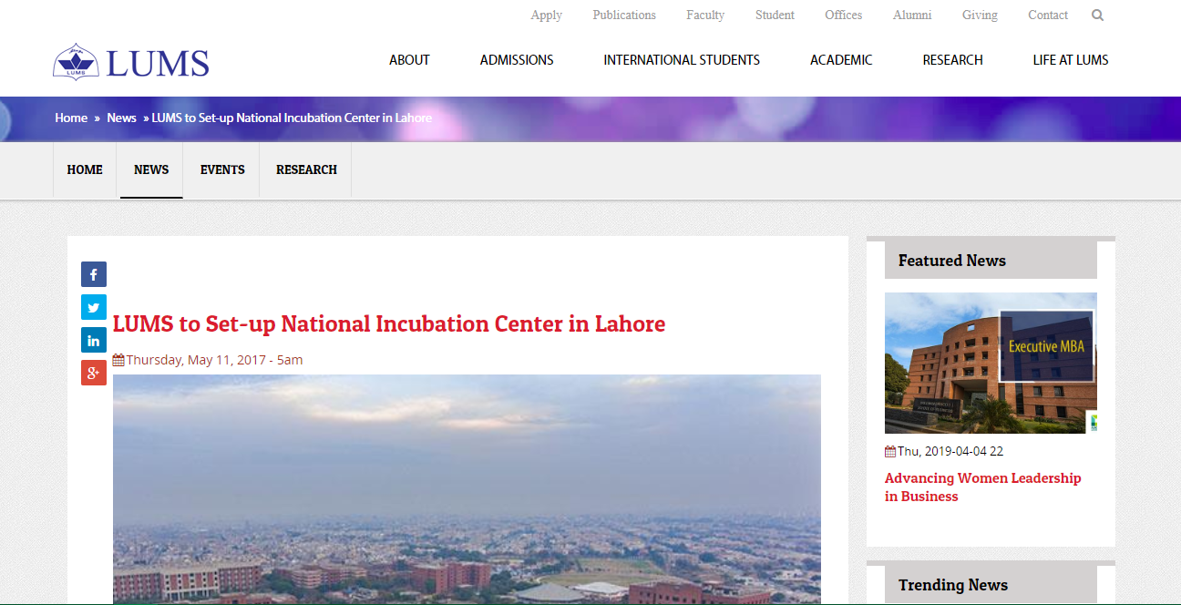 Top 5 Incubation Centers In Pakistan.Places To Support Your Business Start-up Ideas