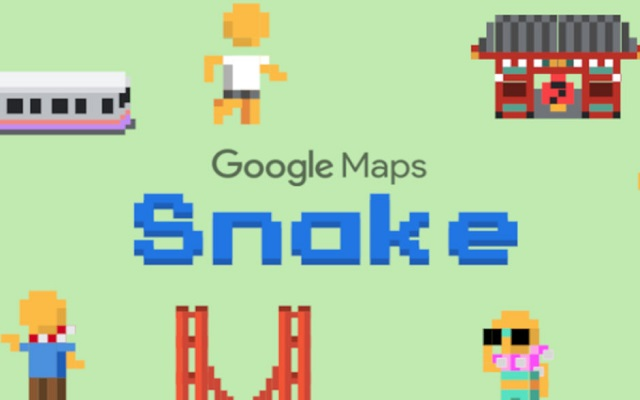 Google Maps Add Nokia's Snake Game for Android & iOS