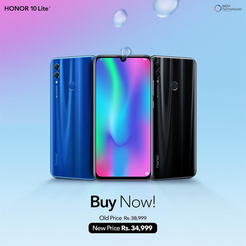 Honor 10 Lite Price Drop Pakistan