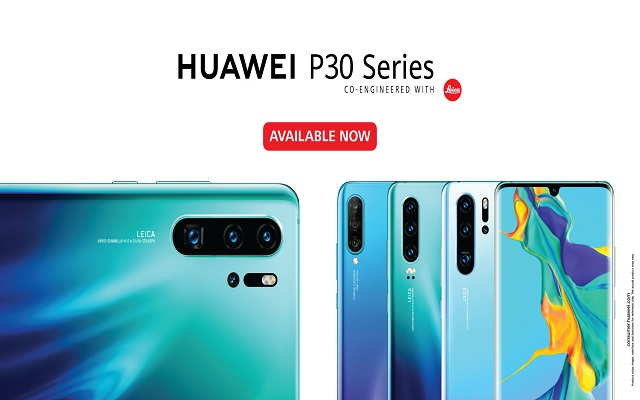 Huawei launches new P30