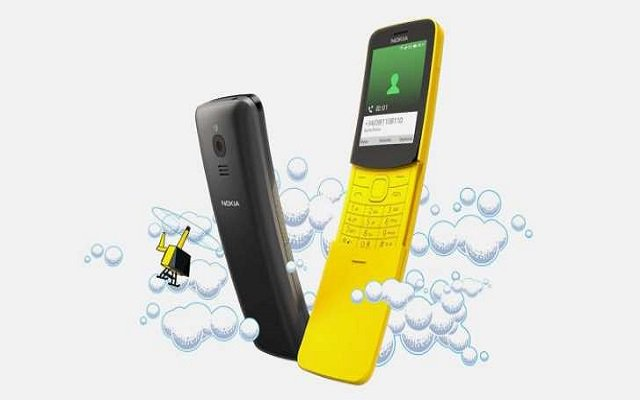 WhatsApp Arrives at the Nokia 8110 in Pakistan