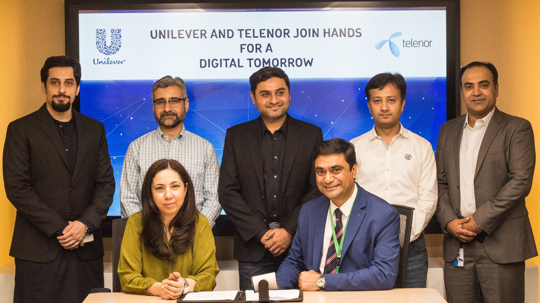 Unilever-&-Telenor-Partnership