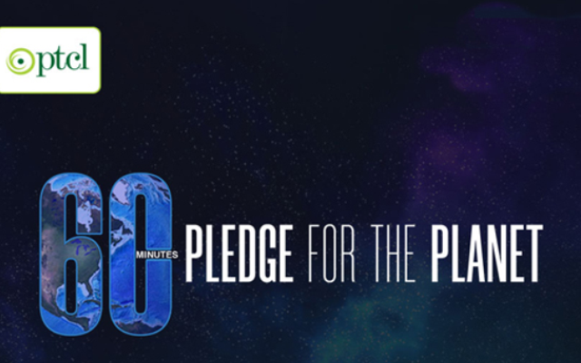 PTCL Observes Earth Hour under the international WWF Campaign