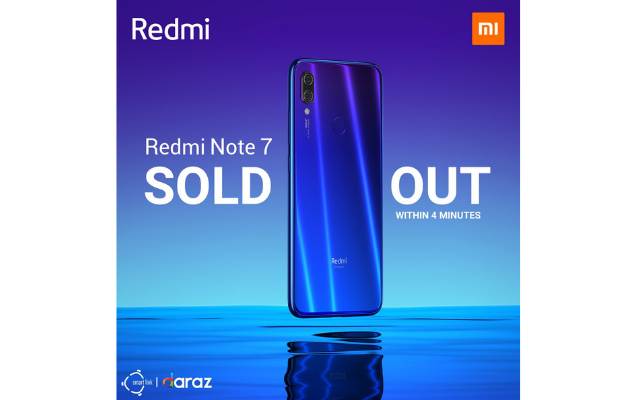 Redmi Note 7 Sold Out within 4 minutes at Flash Sale!