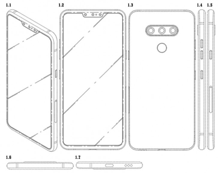 LG Patent Features Three Snappers In Notch Cluster