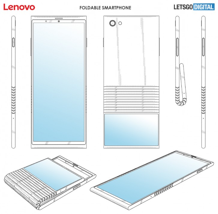Lenovo Foldable Phone will Look Like This