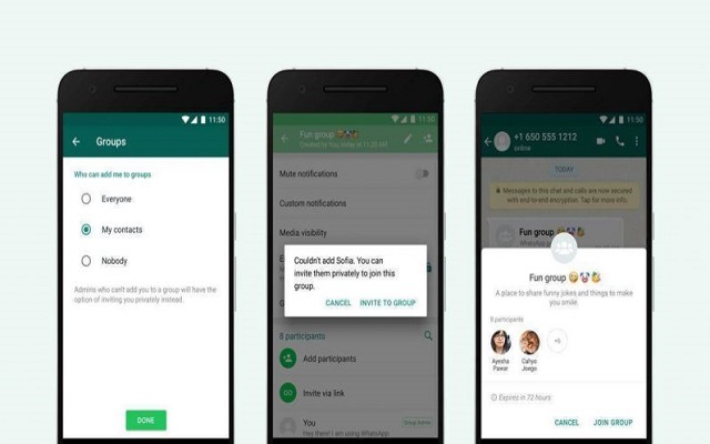 Finally You can Reject WhatsApp group Invitations