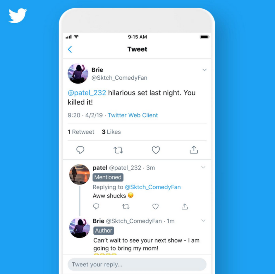 Twitter Threads Will Soon Get New Labels