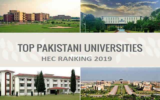 Here Is The New HEC Ranking Of Universities In Pakistan 2019