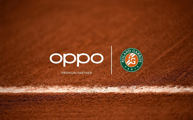 OPPO Becomes Premium Partner & Official Smartphone of Roland-Garros and of the Rolex Paris Masters