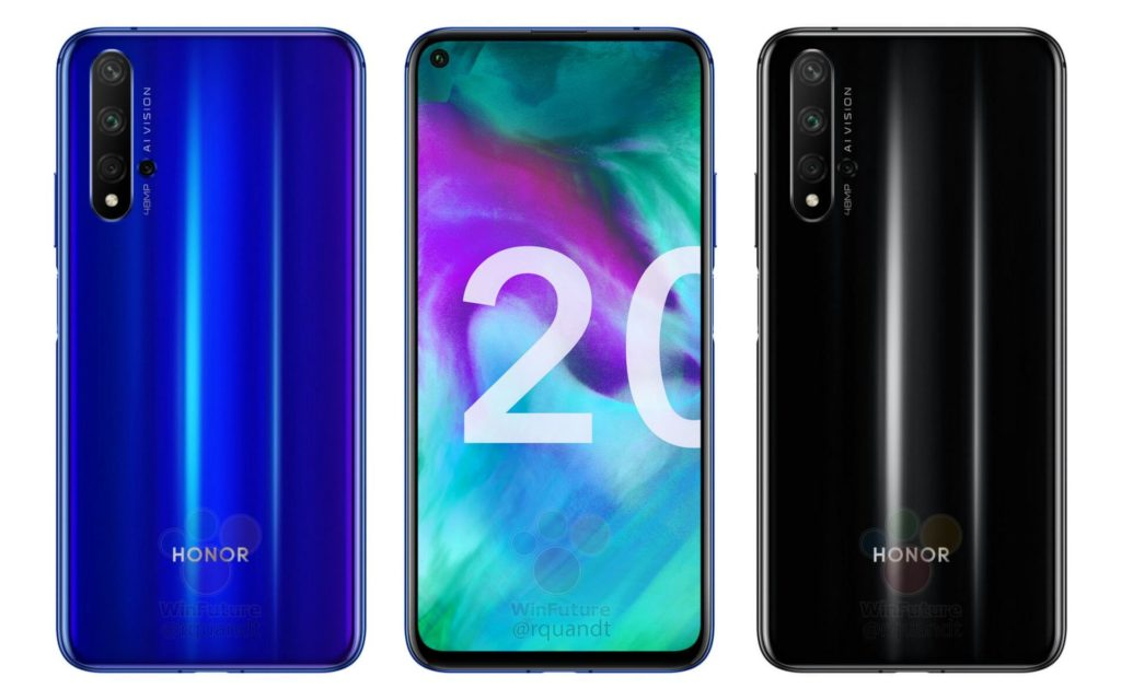 Honor 20 Specs & Renders Got Leaked Ahead Of Launch