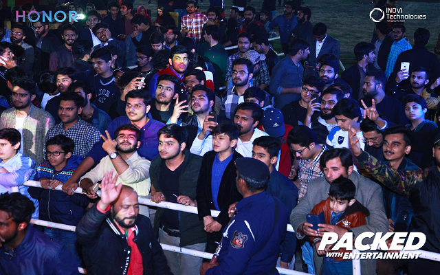 Photo of Journey of Packed with Entertainment with Asim Azhar Powered by Honor Pakistan Ends in Rawalpindi
