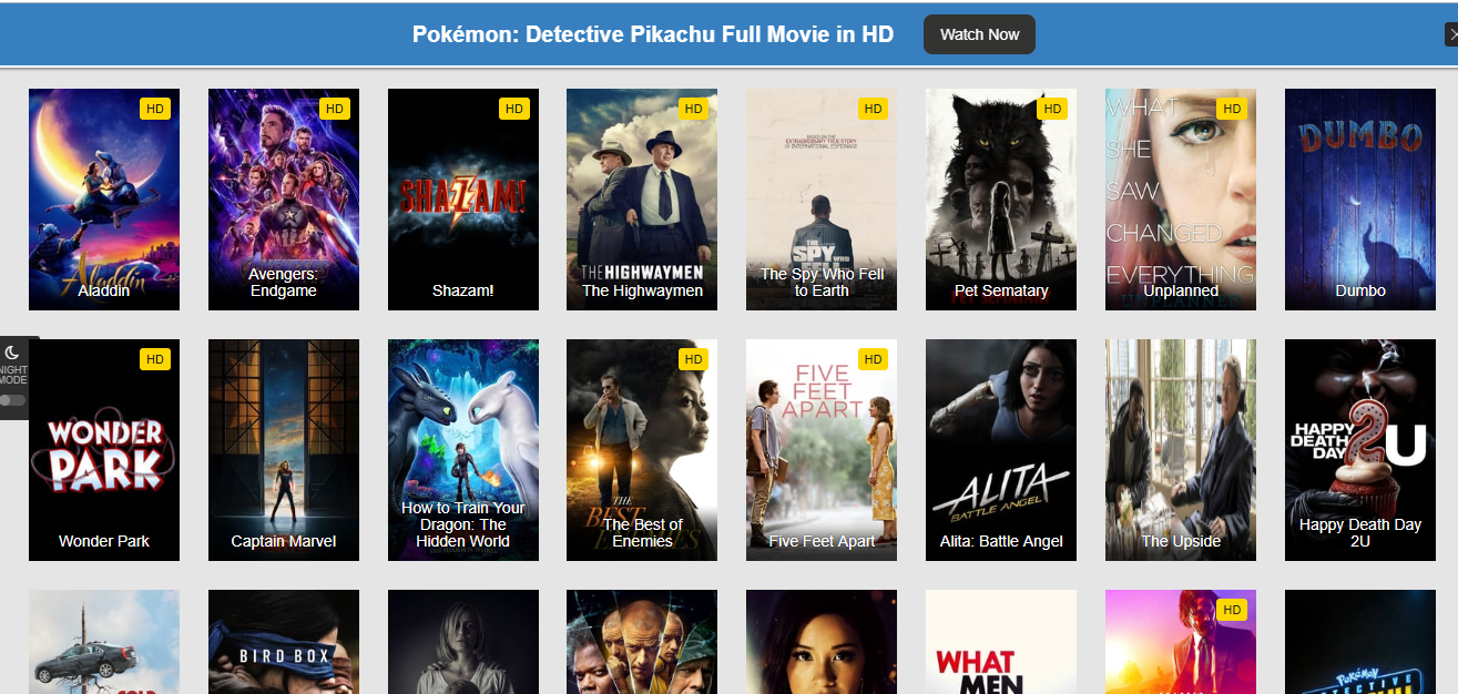 Download Sites That Lets You Download Full Movies For Free