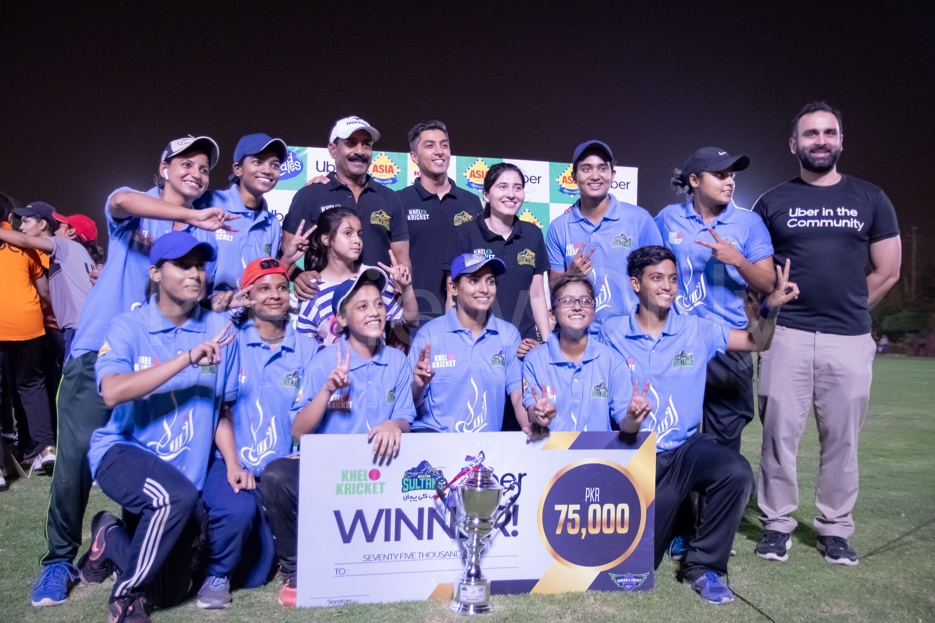 Uber Women Cricketers KheloKricket