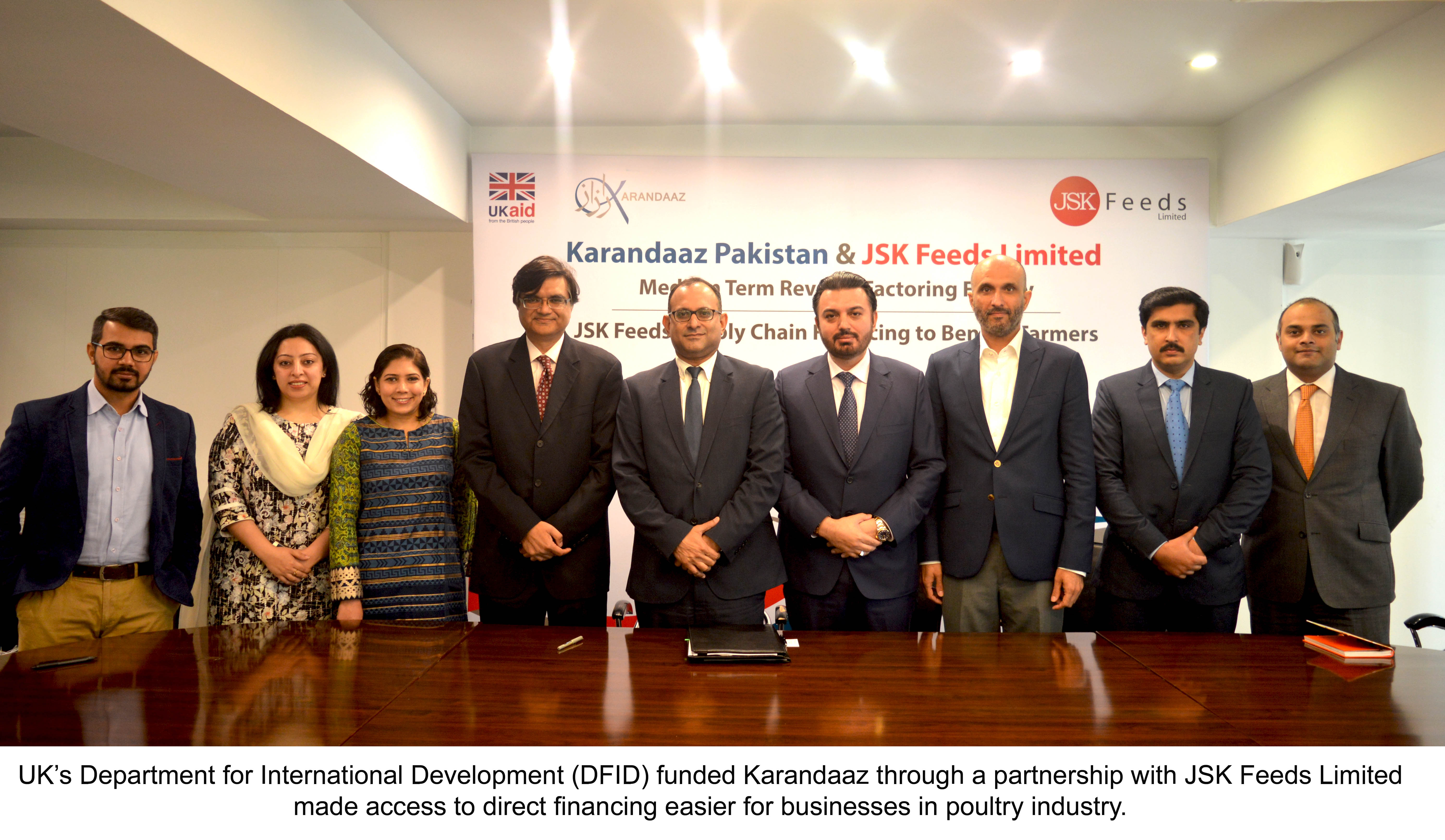 UK Funded Karandaaz Made Businesses in Poultry Industry Easier