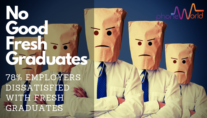 employers dissatisfied with graduates