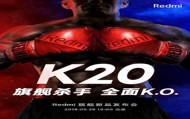 Redmi K20 to Arrive on May 28