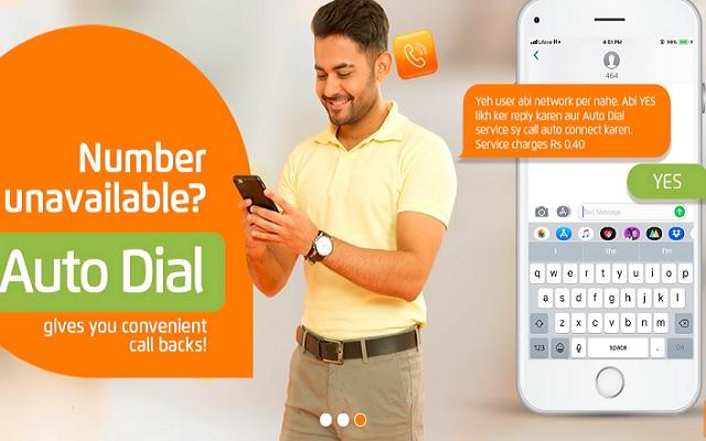 Ufone Auto Dial Service