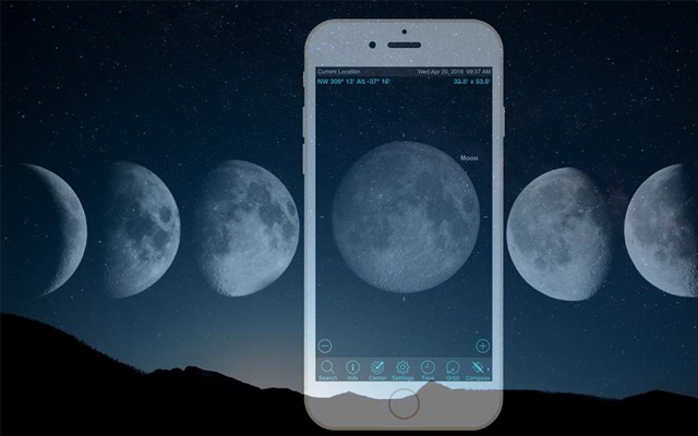moon-sighting app