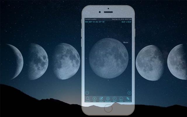 moon-sighting app