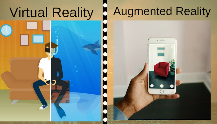 Virtual And Augmented Reality Towards Faking A Real World