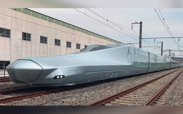 Japan is Testing World's Fastest Bullet Train: Alfa-X