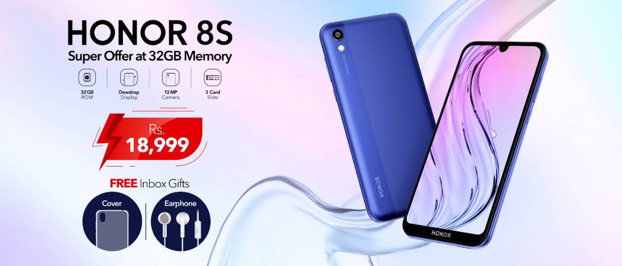 Honor 8s in Pakistan