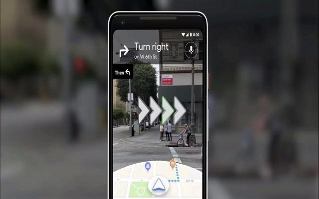 Google Map AR Navigation Feature Arrives for Pixel Phones