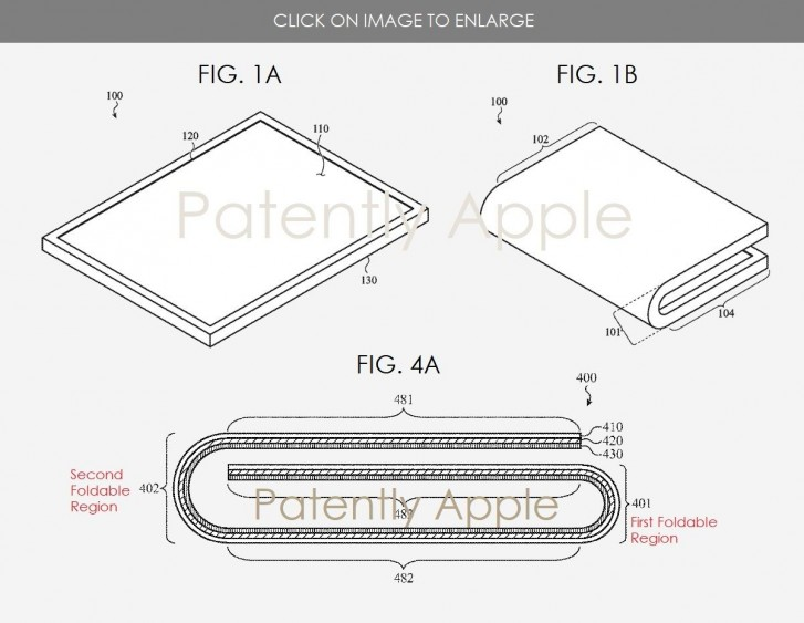 Apple foldable device
