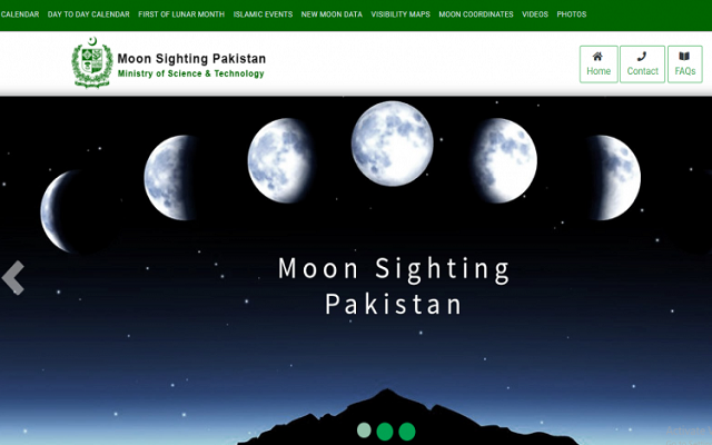 Pakistan's First Moon Sighting Website is Official, Eid on June 5