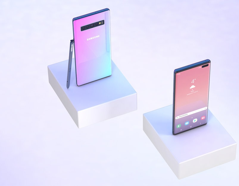Galaxy Note 10 to Come in these Five Colors
