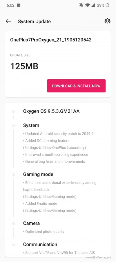 OnePlus 7 Pro First Firmware Update Rolls Out To Users