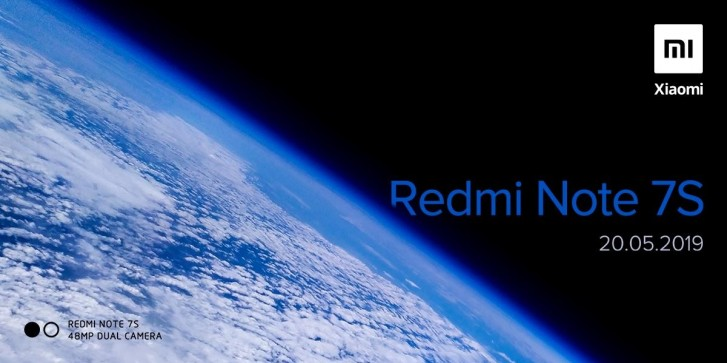 Redmi Note 7S Will Launch On May 20