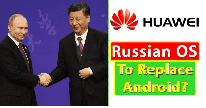 Huawei May Use Aurora OS To Replace Android In Its Smartphones