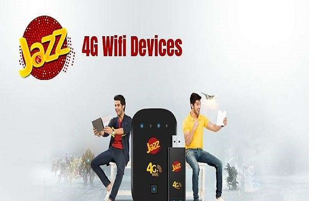 Jazz Wifi & Mifi 4G Devices Internet Packages 2019
